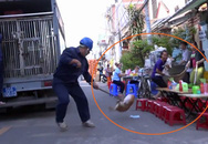 Dân mạng tranh cãi kịch liệt về clip thòng dây bắt chó thả rông tại Sài Gòn