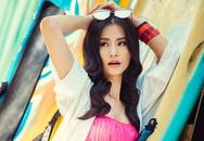 Đông Nhi khiến fan 'choáng' vì mặc áo tắm quay MV