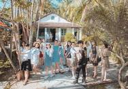 Kỷ yếu như hình trên tạp chí du lịch của sinh viên Quy Nhơn