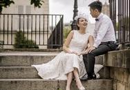 Ảnh cưới chưa từng công bố của 'Cô gái thời tiết' Mai Ngọc