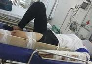 Hà Nội: Anh trai tìm người gây tai nạn khiến em gái gãy tay, chân rồi bỏ chạy