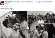 Rò rỉ hình ảnh đám cưới Khánh Thi và Phan Hiển