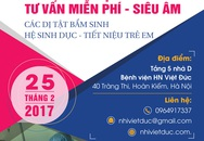 BV Việt Đức: Sàng lọc, tư vấn miễn phí phát hiện sớm dị tật sinh dục, tiết niệu
