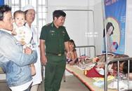 Sản phụ ở Cà Mau sinh 'mẹ tròn con vuông' trong bão Tembin