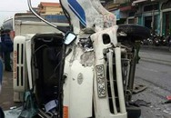 Quảng Ninh: Bất ngờ bị đâm trực diện, tài xế xe tải nguy kịch