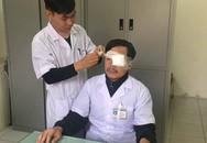 Thái Bình: Đang cấp cứu bệnh nhân, bác sĩ bị đánh gẫy xương sống mũi, chấn thương mắt trái