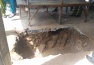 Thấy quan tài khi đào hố ga tại chợ phụ tùng xe máy lớn nhất TP.HCM
