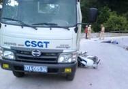 Va chạm với xe CSGT, hai vợ chồng thương vong