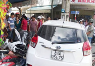 Vụ ô tô 'ủi' 7 xe máy: Người lái xe là Thượng úy công an