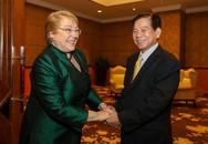 Tổng thống Chile đi tìm gặp bạn cũ Nguyễn Minh Triết