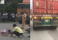 Va chạm với xe container một phụ nữ tử vong