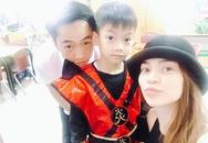 Vui tình mới, Hồ Ngọc Hà và Cường Đô La không quên cùng đưa con trai Subeo đến trường