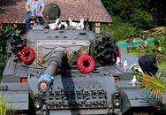 Chủ nhà bị kiện vì để mô hình xe tăng trong sân