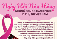 Ngày hội nón hồng: Những con số hạnh phúc vì phụ nữ Việt Nam