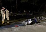 2 xe máy tông nhau giữa khuya, 1 người chết 3 người bị thương