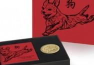 Nước Anh đúc tiền vàng in hình chó mừng năm Mậu Tuất
