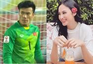 """Angela Phương Trinh chỉ coi thủ môn Bùi Tiến Dũng là """"anh trai mưa"""""""