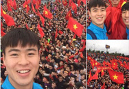 Công Phượng, Duy Mạnh cùng U23 Việt Nam liên tục check-in Facebook