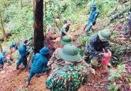 Chùm ảnh băng rừng, lội suối của đội tìm kiếm MIG 21 rơi ở Tam Đảo