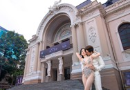 Sĩ Thanh bị dân mạng chỉ trích phản cảm khi chụp bộ ảnh cưới sexy giữa trung tâm thành phố