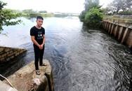 Nam thanh niên cứu hai mẹ con dưới dòng nước xoáy