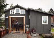 Cô gái tự tay cải tạo nhà để xe cũ thành ngôi nhà nhỏ cấp 4 tiện nghi đến khó tin
