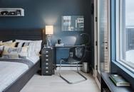 Nếu bạn mong muốn sở hữu một không gian sống yên bình thì đừng ngại chọn màu xanh lam