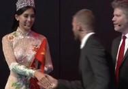 Tự tin ở sự kiện ra mắt xe Vinfast, Hoa hậu Trần Tiểu Vy càng khẳng định mình xứng với vương miện