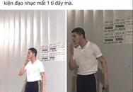 Rò rỉ hình ảnh được cho là Noo Phước Thịnh cắt đầu đinh, hút thuốc lá giữa ồn ào bị kiện đòi gần 1 tỷ đồng