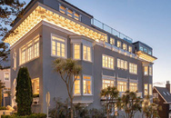 Ngôi nhà rộng 900 m2 có nội thất gây choáng và được gia cố bằng vật liệu chống động đất