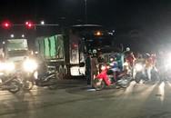 Nam công nhân bị xe đầu kéo cán tử vong trên đường đi làm về