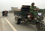 """CSGT các tỉnh """"vây bắt"""" xe công nông """"đại náo"""" quốc lộ"""