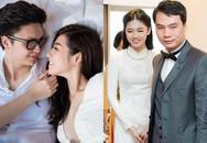 Trùng hợp khó tin giữa 2 Á hậu trẻ tuổi vừa lấy chồng đại gia