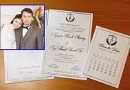 Hé lộ thiệp cưới của Á hậu Thanh Tú và chồng đại gia