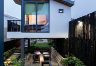 Ngôi nhà xây trên mảnh đất hẹp và dài nhưng tràn ngập cây xanh, ánh nắng đẹp như mơ ở Đà Lạt