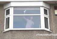 Bức ảnh người phụ nữ lau cửa sổ tưởng chừng rất bình thường nhưng được cảnh sát chia sẻ với lời cảnh báo nghiêm trọng