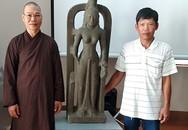 Người dân vớt được tượng nữ thần trị giá 7,5 tỷ đồng dưới sông Cổ Chiên