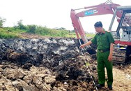 Nổ lớn nghi do máy xúc đào trúng mìn ở Cần Thơ