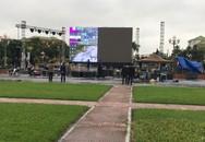 Nghệ An: Lắp màn hình LED 70m2 tại Quảng trường Hồ Chí Minh để cổ vũ cho đội tuyển Việt Nam