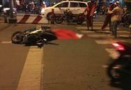 Liên tiếp xảy các vụ va chạm lúc đi 'bão' ở Sài Gòn, nhiều người thương vong nằm bất động trên đường