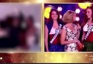 Thí sinh Hoa hậu Pháp bị quay cảnh ngực trần trên sóng trực tiếp