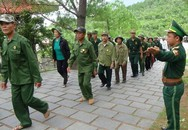 Người lính quân hàm xanh canh gác mộ Đại tướng Võ Nguyên Giáp