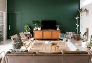 Ngôi nhà xanh vô cùng thân thiện với môi trường, được cặp đôi tự tay thiết kế bằng vật liệu tái chế