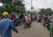 Để lại xe máy, người phụ nữ lao vào tàu hỏa tự sát ở Sài Gòn