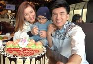 Con trai Đan Trường ngọng nghịu chúc mừng sinh nhật ba