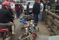 Tai nạn giao thông thương tâm: Mẹ nguy kịch, con gái gãy tay
