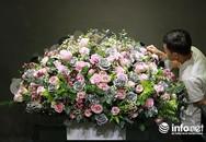 Ngắm bó hoa hồng giá 65 triệu đại gia mua tặng vợ dịp Valentine