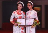 Bất ngờ H'Hen Niê làm người mẫu áo dài hoa hậu Ngọc Hân thiết kế