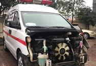 Xe cứu thương tông 3 người một gia đình nguy kịch, tài xế lái xe bỏ trốn