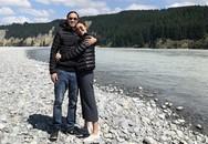 Tăng Thanh Hà ôm chồng tình tứ, đi du lịch đầu năm sau nghi vấn mang thai